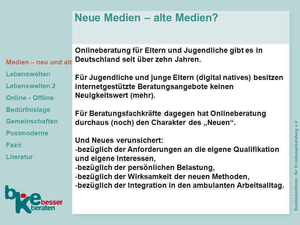 Neue Medien – alte Medien