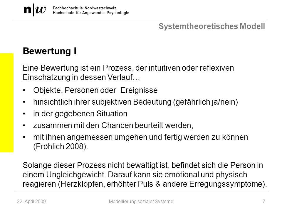 Systemtheoretisches Modell