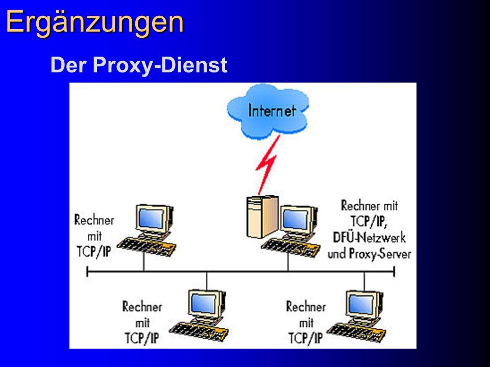 Ergänzungen Der Proxy-Dienst