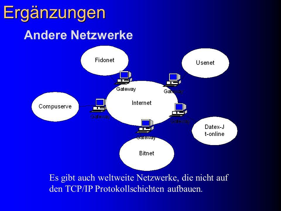 Ergänzungen Andere Netzwerke