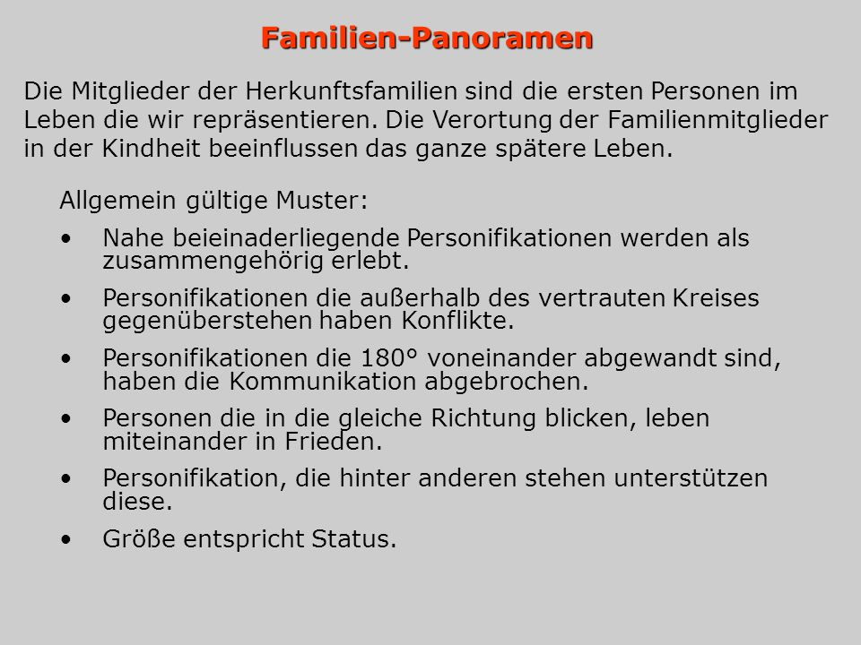 Familien-Panoramen