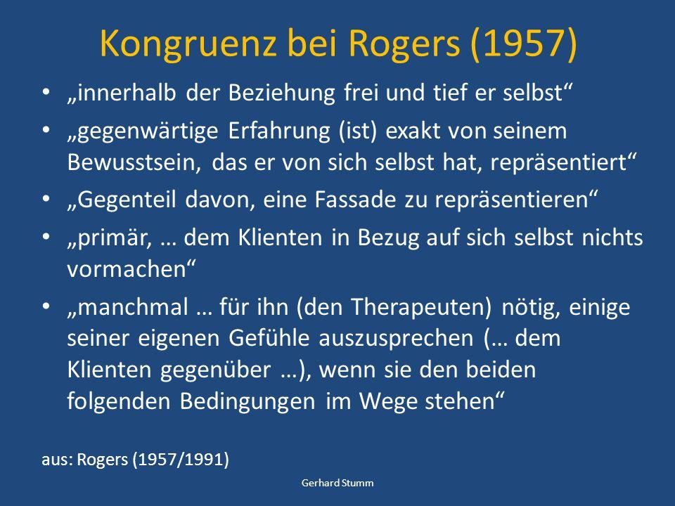 Kongruenz bei Rogers (1957)