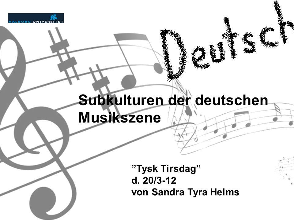 Subkulturen der deutschen Musikszene