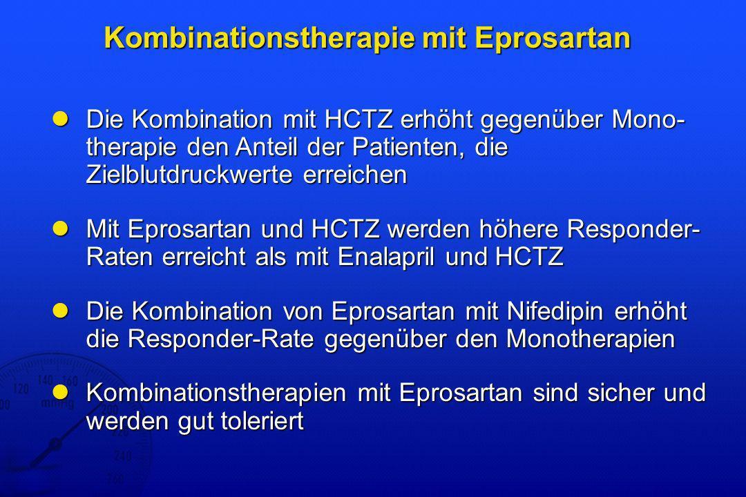 Kombinationstherapie mit Eprosartan