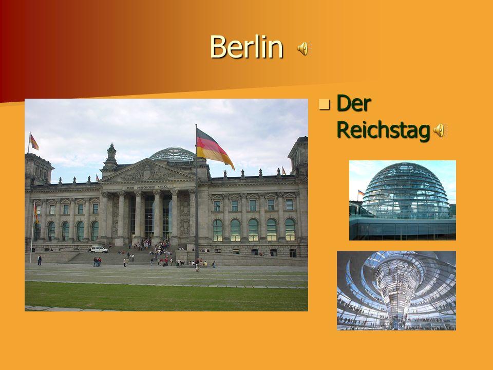 Berlin Der Reichstag Parliament Building