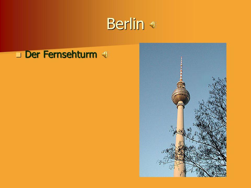 Berlin Der Fernsehturm
