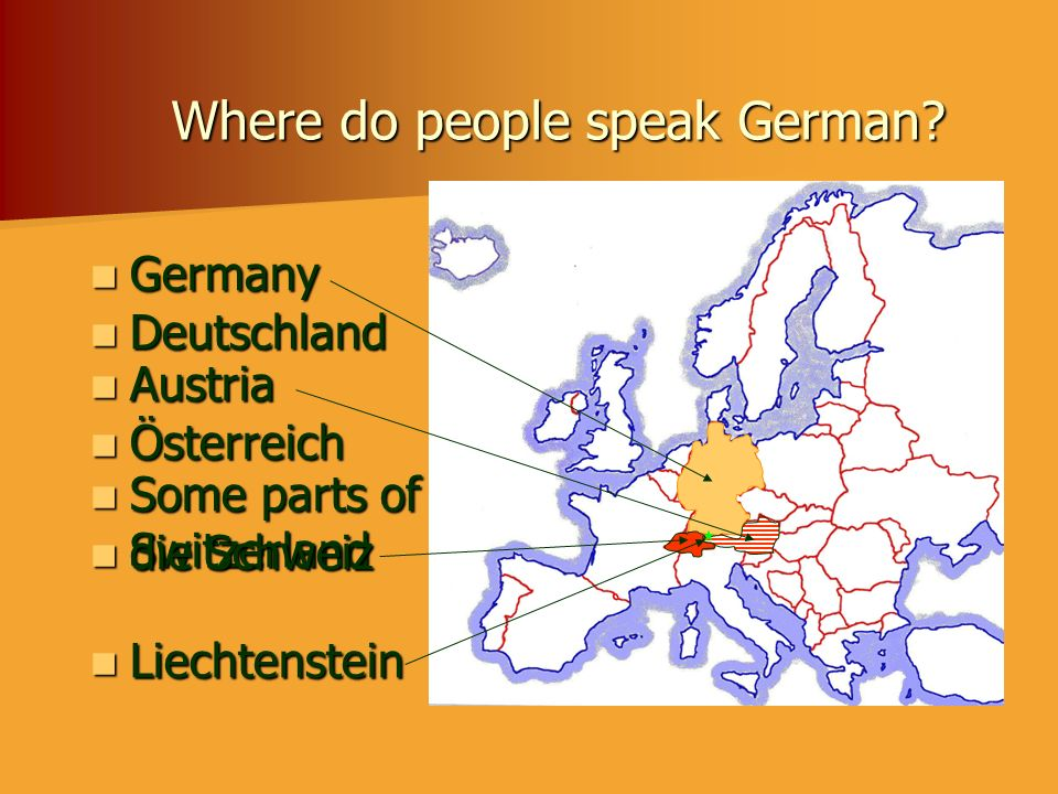 Where do people speak German
