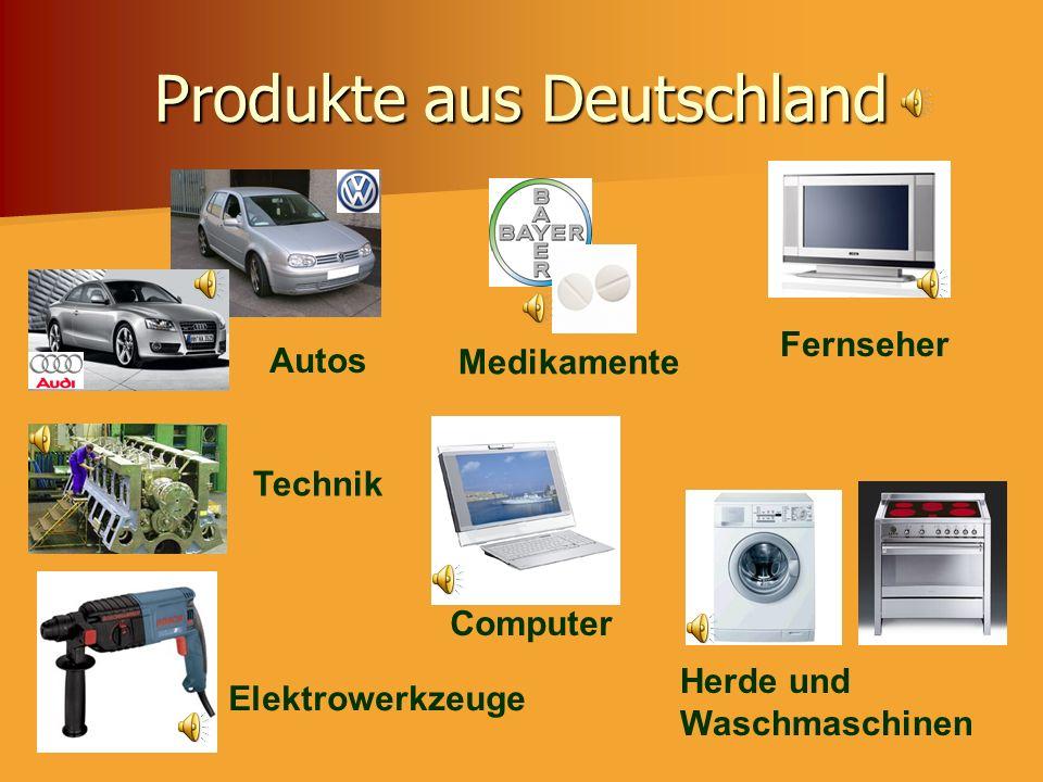 Produkte aus Deutschland