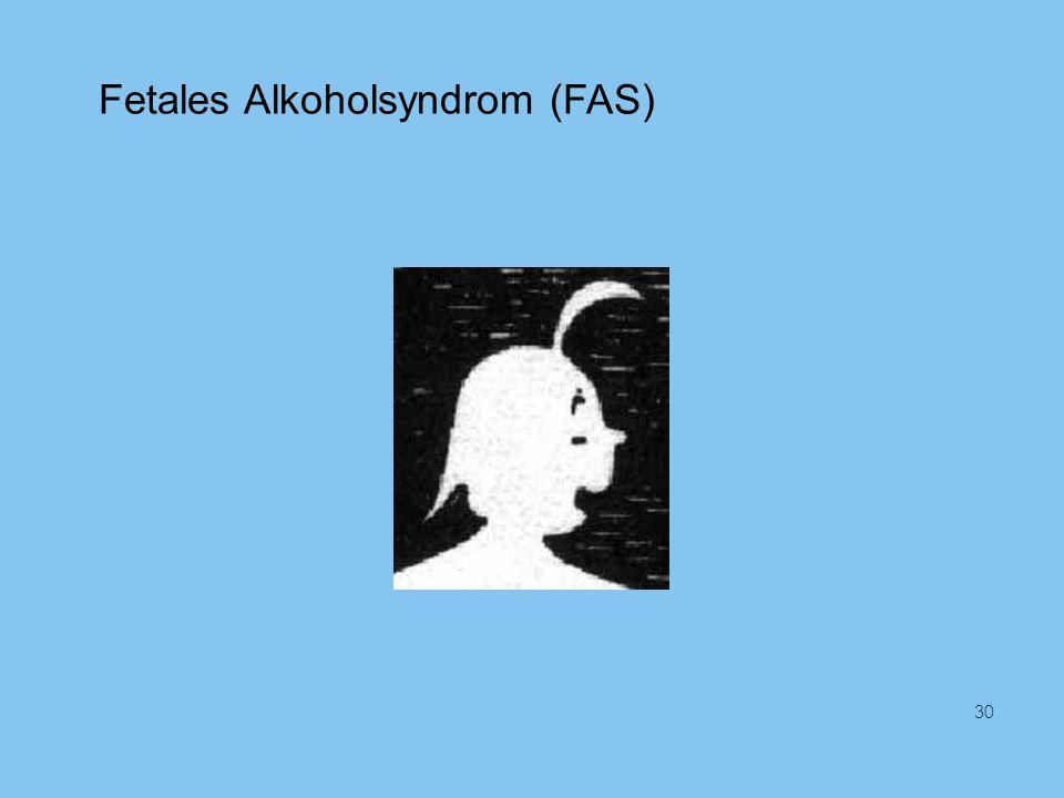 Fetales Alkoholsyndrom (FAS)
