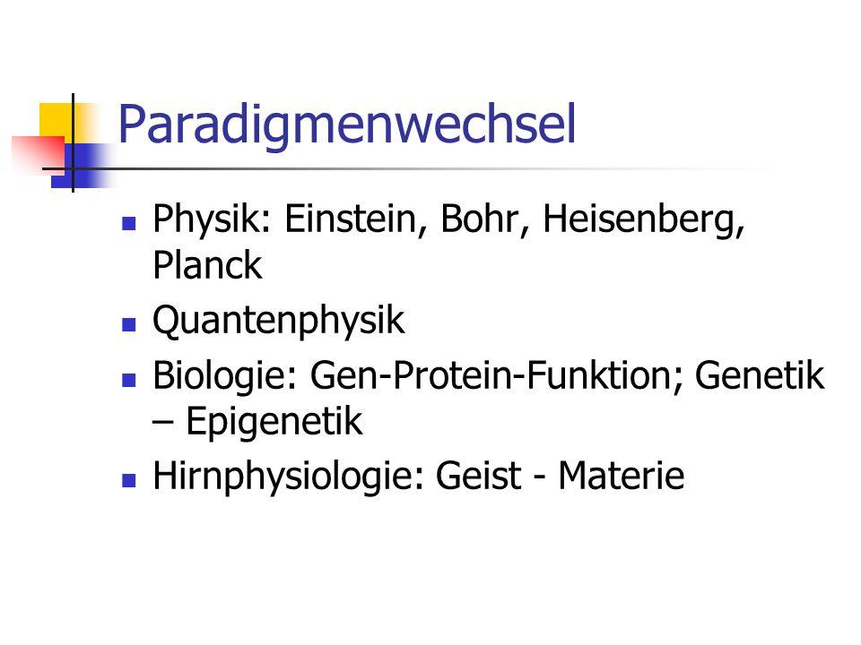 Paradigmenwechsel Physik: Einstein, Bohr, Heisenberg, Planck