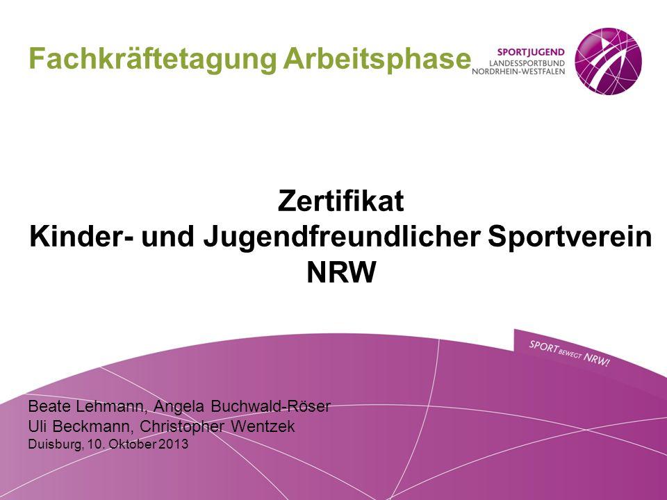 Kinder- und Jugendfreundlicher Sportverein NRW