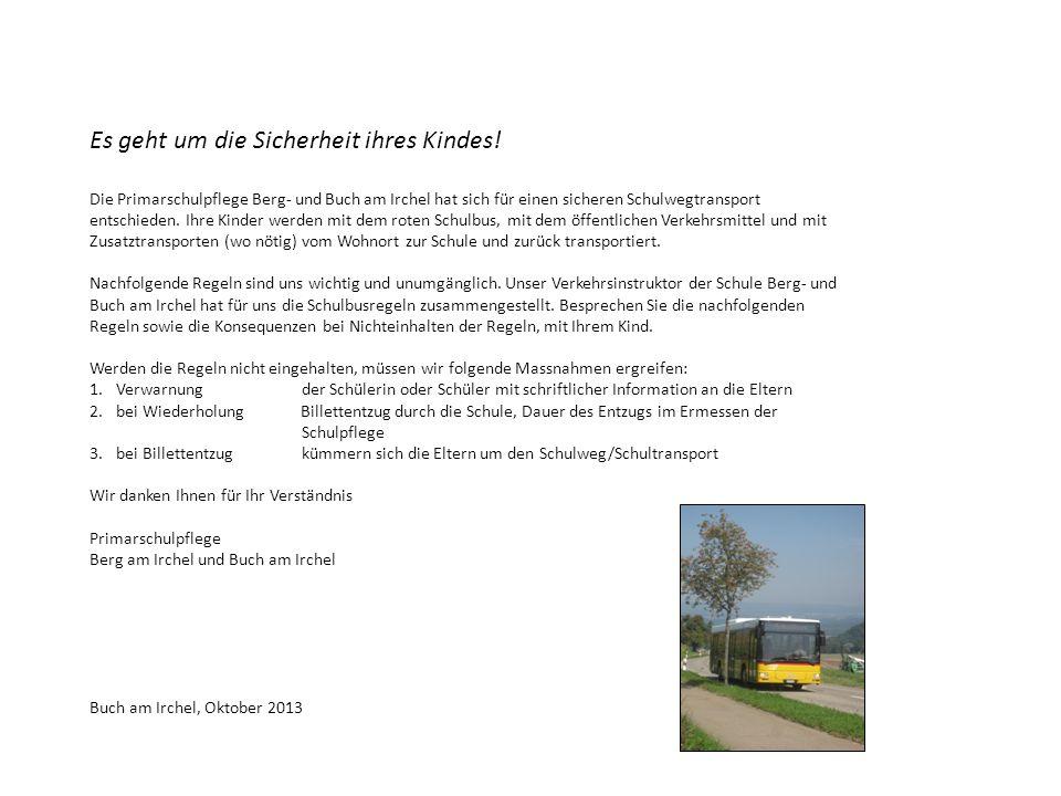 Primarschule Berg- und Buch am Irchel