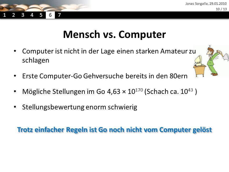 Trotz einfacher Regeln ist Go noch nicht vom Computer gelöst