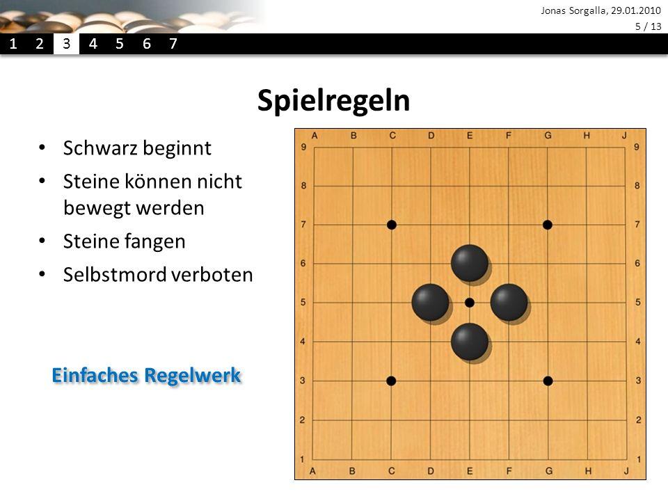 Spielregeln Schwarz beginnt Steine können nicht bewegt werden