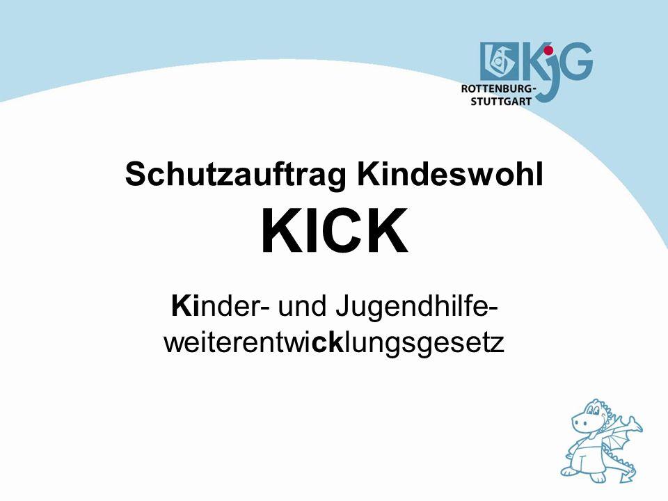 Schutzauftrag Kindeswohl KICK