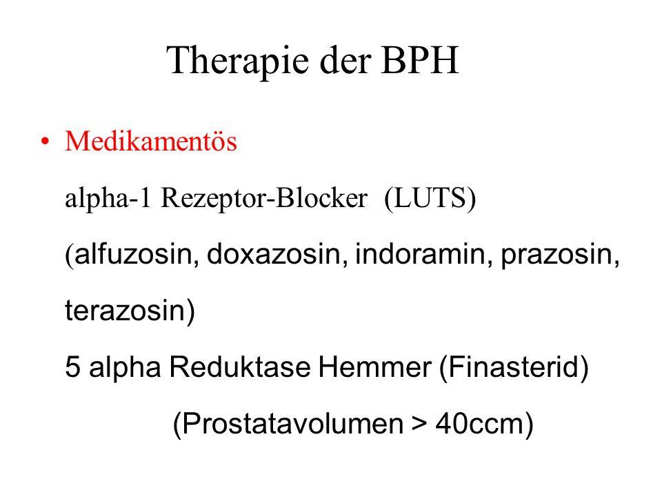 Therapie der BPH