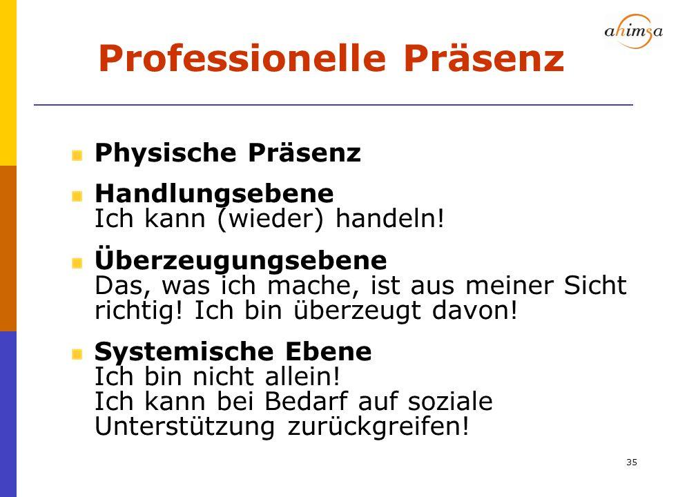 Professionelle Präsenz