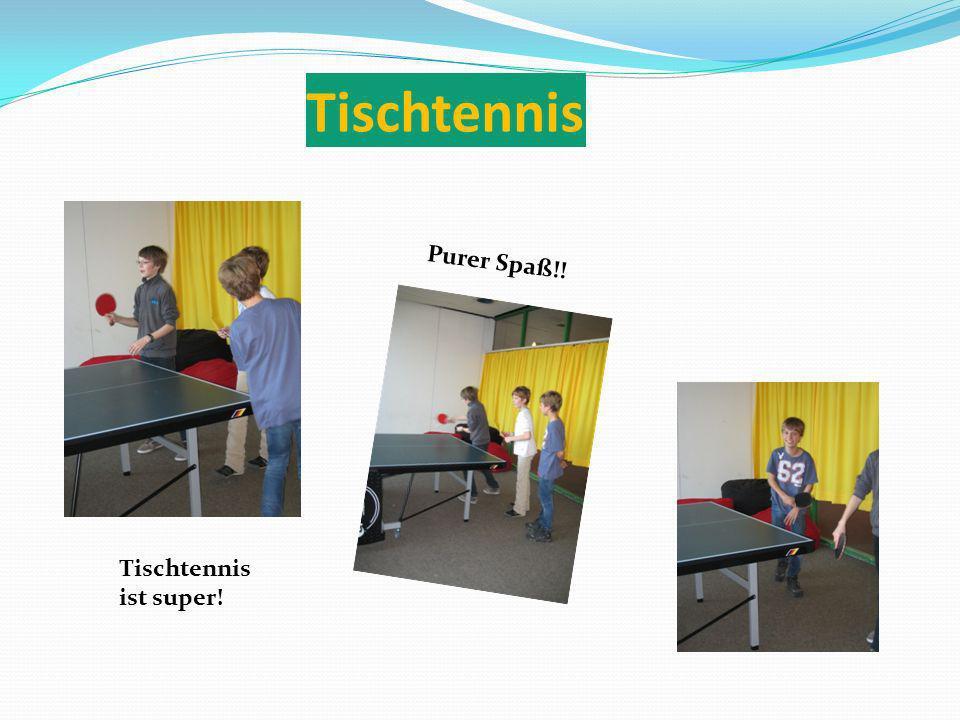 Tischtennis Purer Spaß!! Tischtennis ist super!