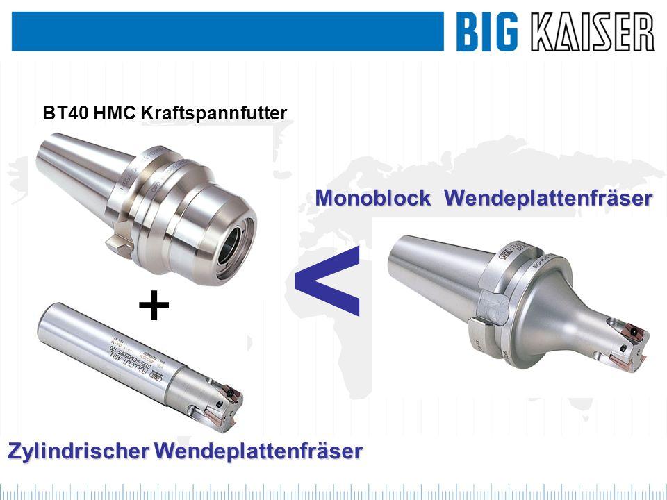 Monoblock Wendeplattenfräser Zylindrischer Wendeplattenfräser