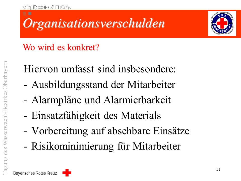 Organisationsverschulden