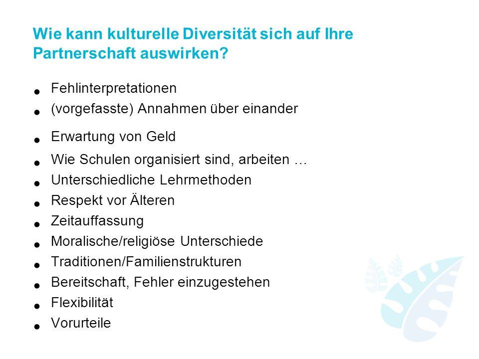 Wie kann kulturelle Diversität sich auf Ihre Partnerschaft auswirken