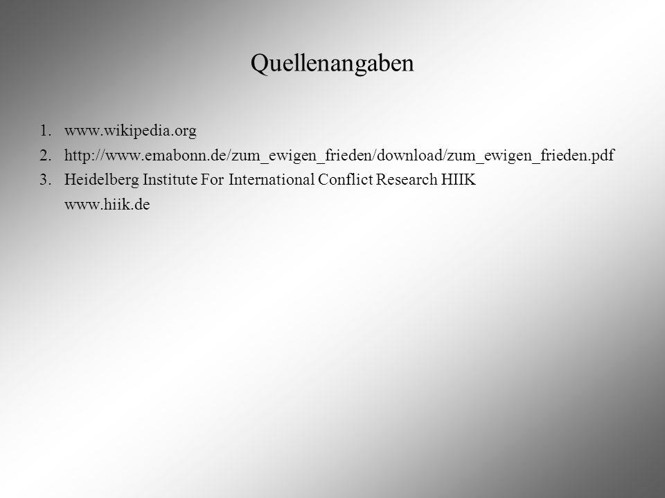 Quellenangaben www.wikipedia.org