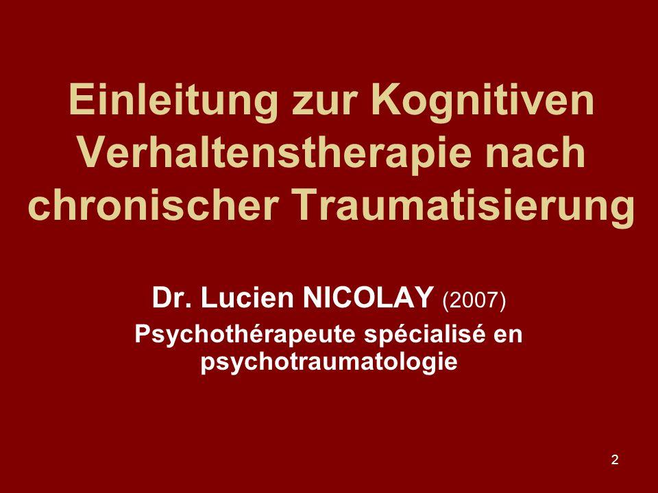 Psychothérapeute spécialisé en psychotraumatologie
