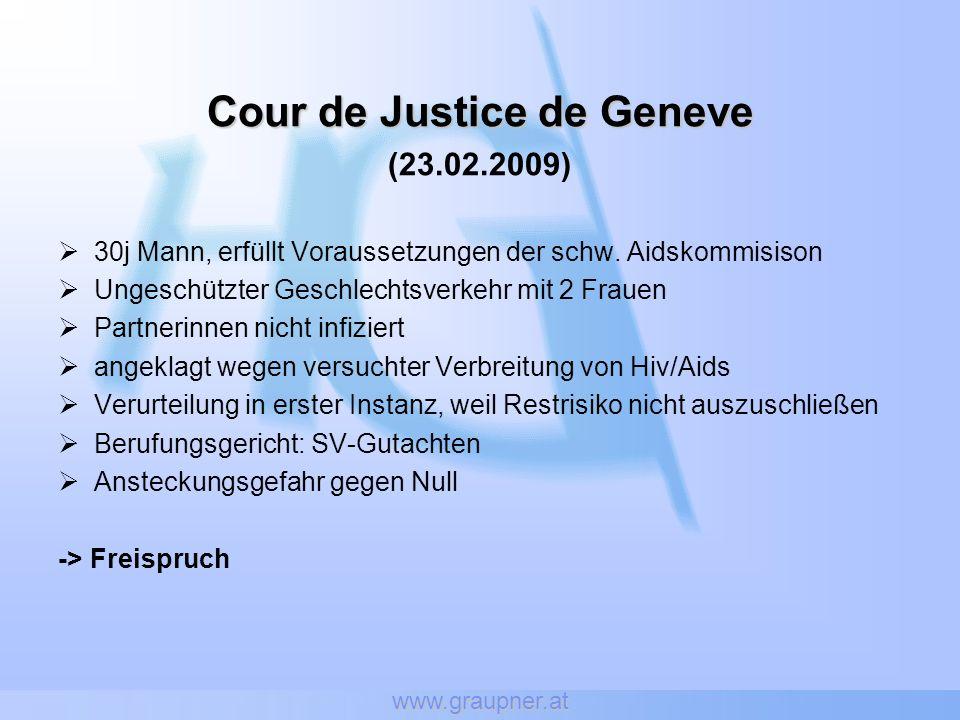 Cour de Justice de Geneve