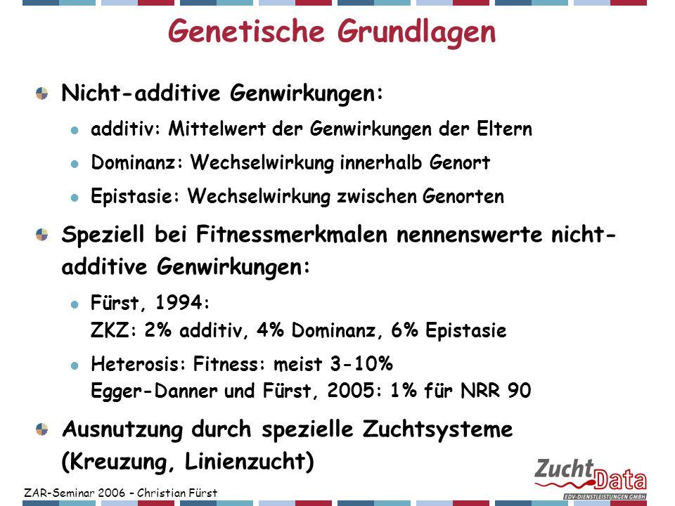 Genetische Grundlagen
