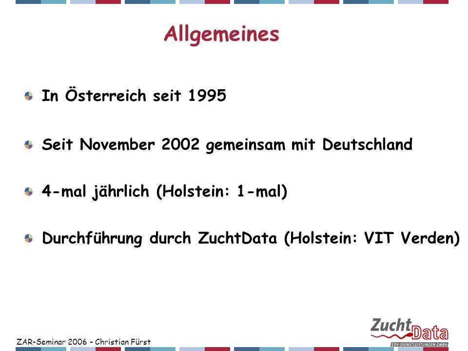 Allgemeines In Österreich seit 1995