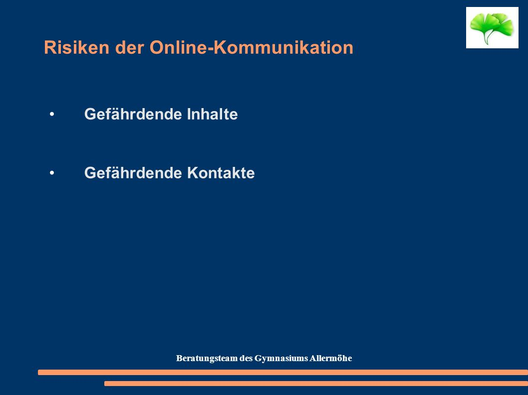 Risiken der Online-Kommunikation