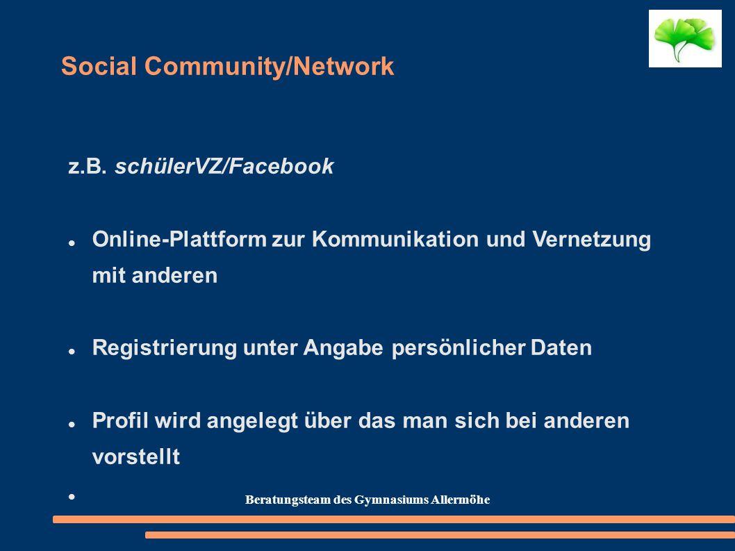 Social Community/Network