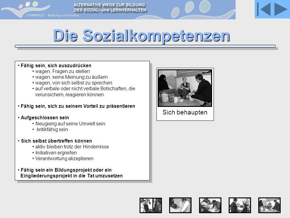 Die Sozialkompetenzen