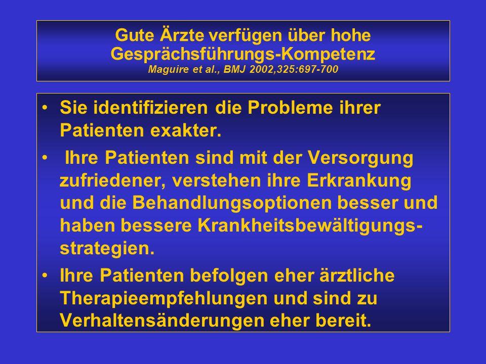 Sie identifizieren die Probleme ihrer Patienten exakter.