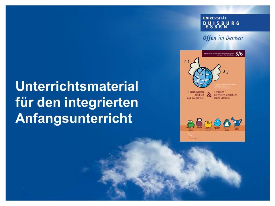 Unterrichtsmaterial für den integrierten Anfangsunterricht