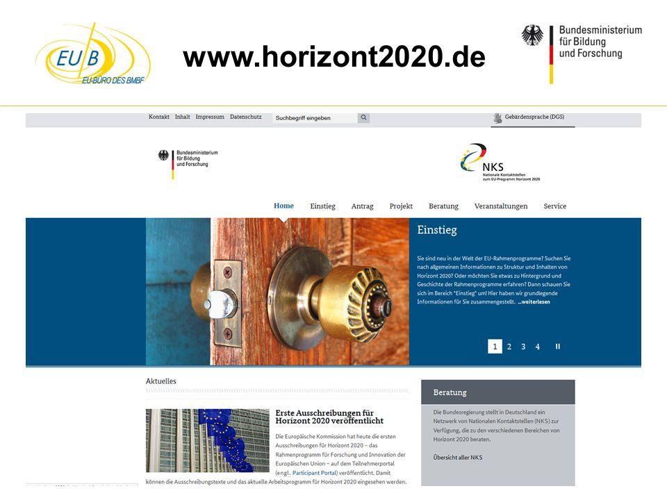 www.horizont2020.de