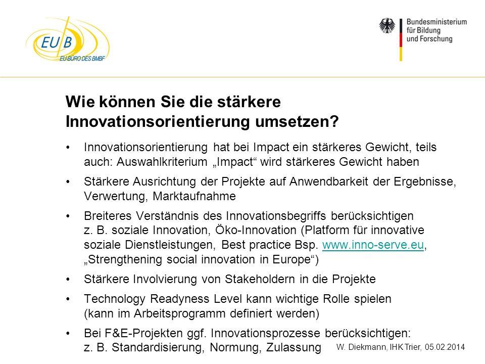 Wie können Sie die stärkere Innovationsorientierung umsetzen