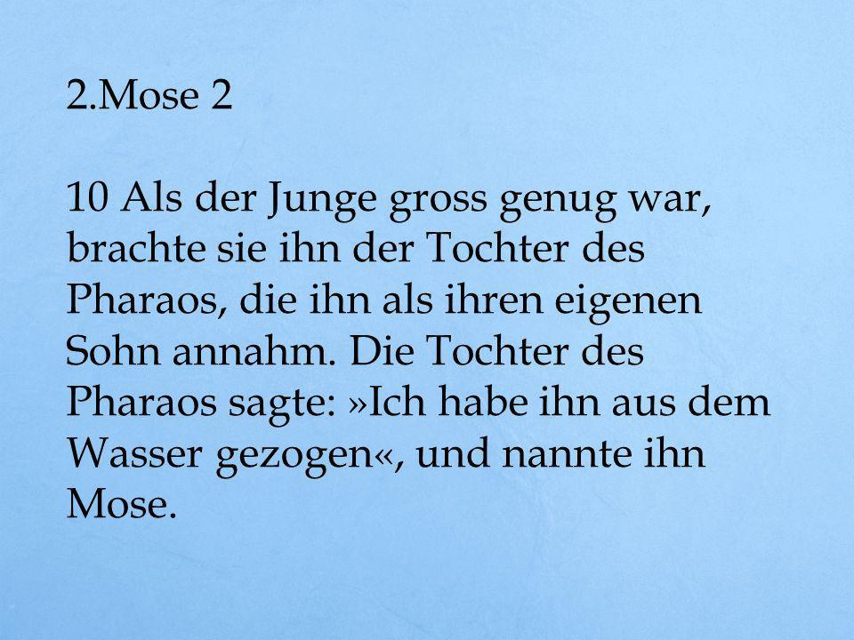 2.Mose 2