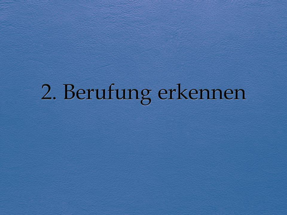 2. Berufung erkennen