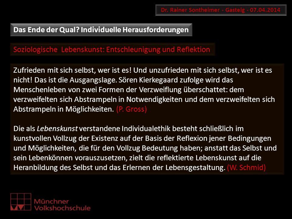 Dr. Rainer Sontheimer - Gasteig - 07.04.2014