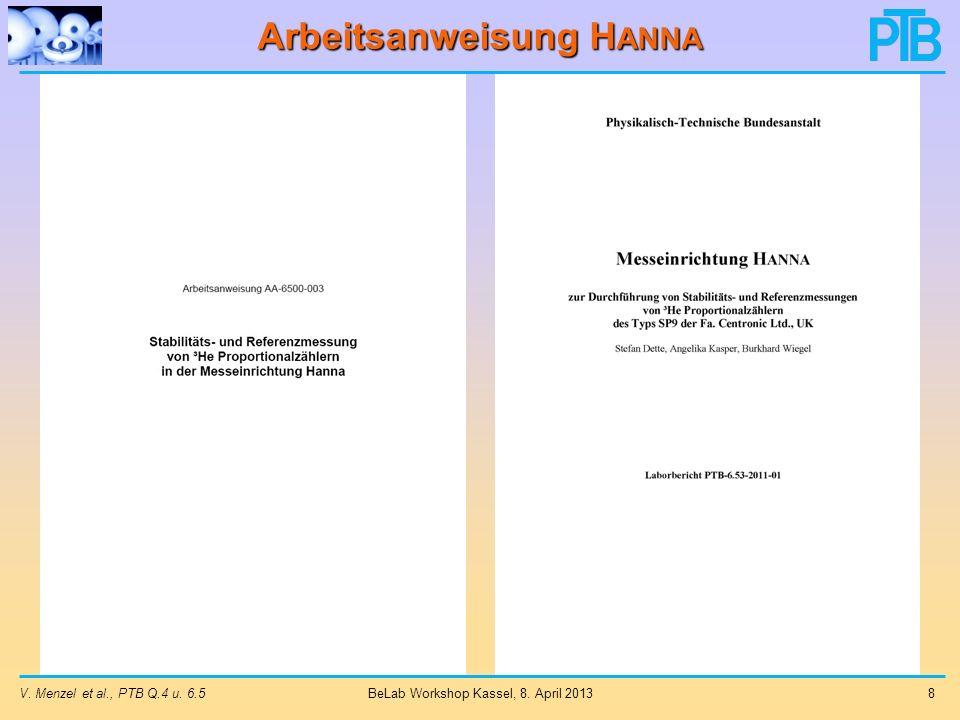 Arbeitsanweisung Hanna