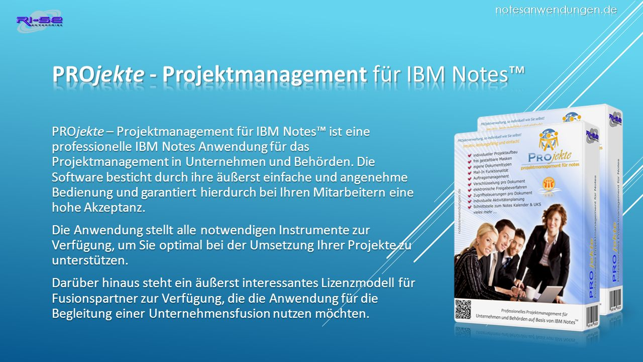 PROjekte - Projektmanagement für IBM Notes™