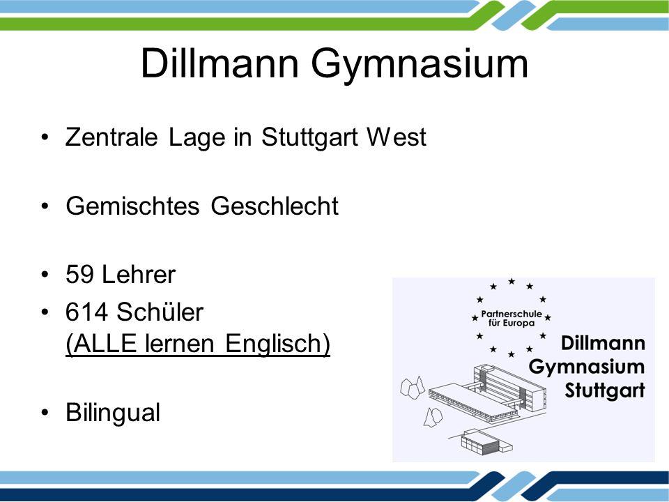 Dillmann Gymnasium Zentrale Lage in Stuttgart West
