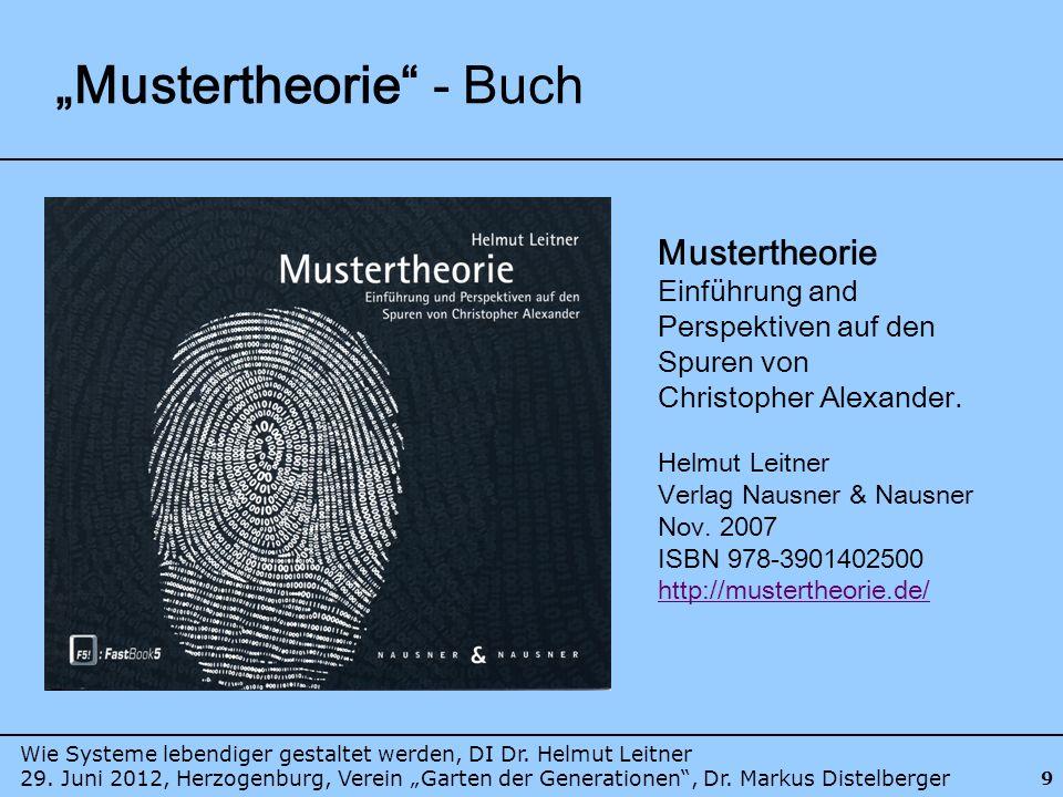 """Mustertheorie - Buch"