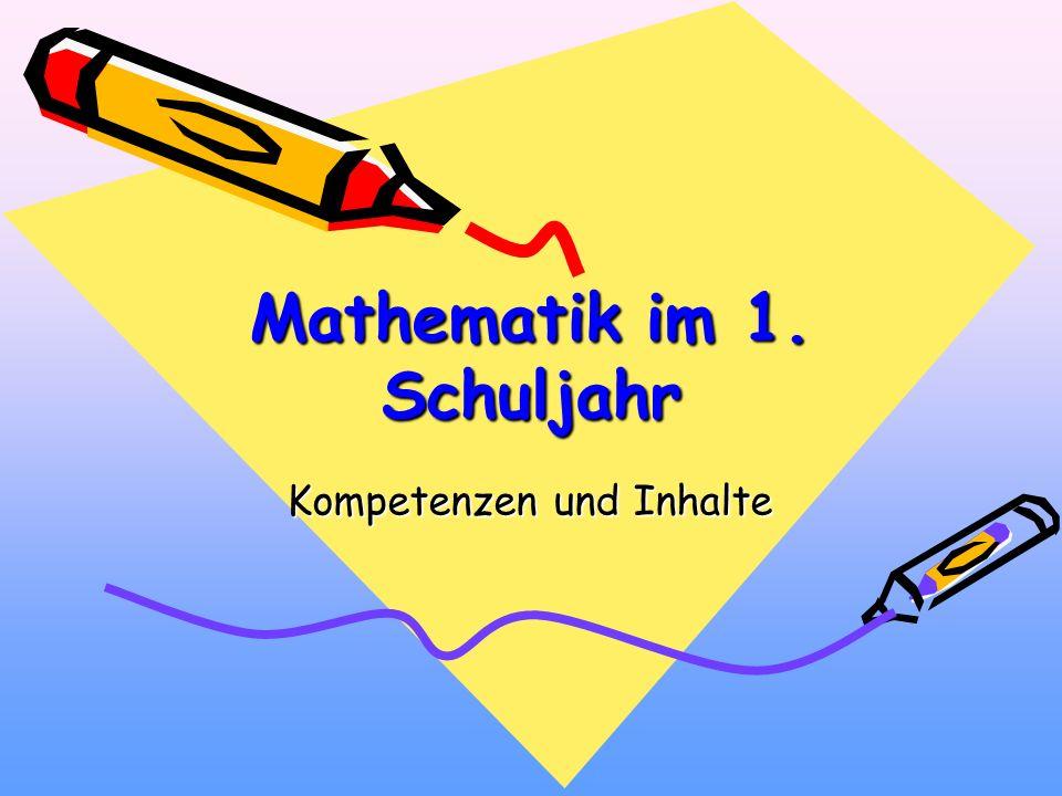 Mathematik im 1. Schuljahr