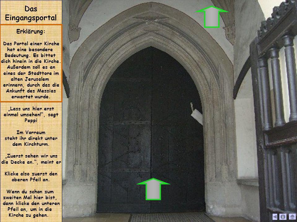 Das Eingangsportal Erklärung: Das Portal einer Kirche