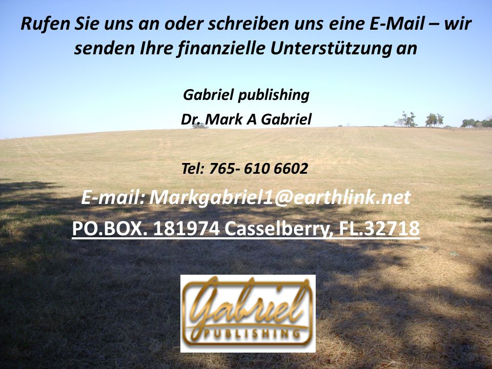 E-mail: Markgabriel1@earthlink.net