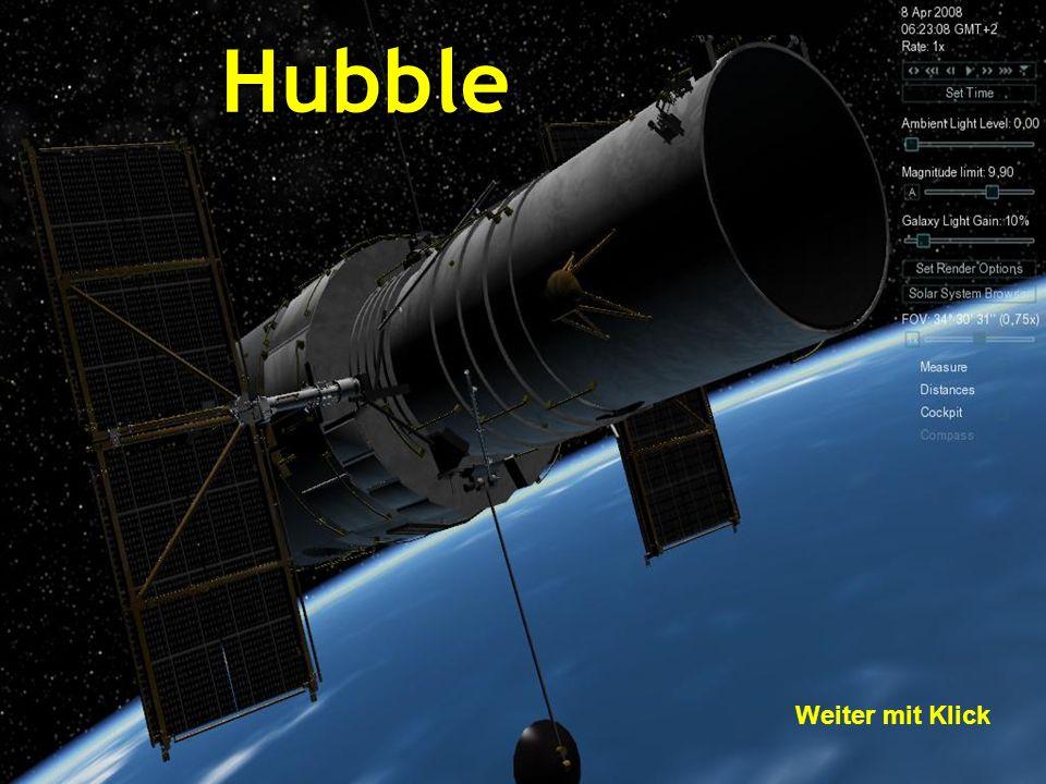 Hubble Weiter mit Klick