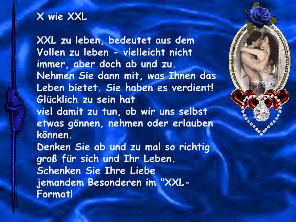 X wie XXL