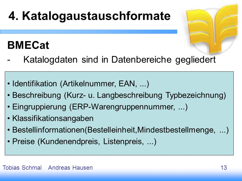 4. Katalogaustauschformate